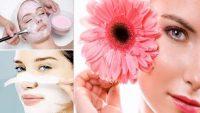 Sağlıklı Bir Cilt İçin Pembe Maske