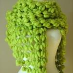fıstık yeşili fıstık modeli şal