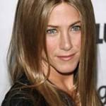 Jennifer Aniston açık kestane saç rengi