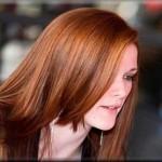 kızıl kestane uzun düz saç mdoeli