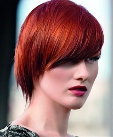 Kısa Kızıl Saçlar En Güzel Kısa Kızıl Saç Modelleri