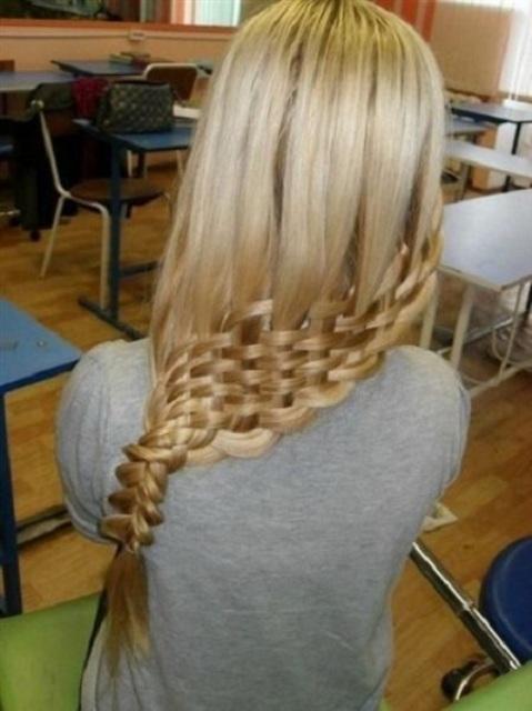 sepet dokuma farklı saç örgüsü