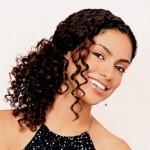 uzun toplu kıvırcık saç modeli