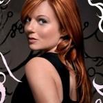 bakır kızılı düz saç modeli