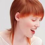 bakır kızılı kısa saç modeli