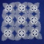dört yapraklı iğne oyası motif örneği
