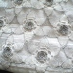 gümüş iğne oyası havlu modeli