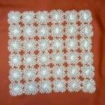 iğne oyası motifli vitrin takımı