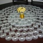 motifli iğne oyası yuvarlak masa örtüsü