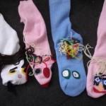 çoraptan el kuklaları
