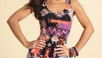 Tribal Ve Geometrik Desenli Elbise Modelleri