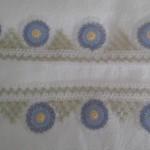 iğne oyası nazar boncuklu havlu kenarı