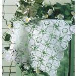 motfili dantel vitrin takımı