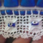 nazar boncuklu havlu modeli