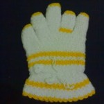 sarı beyaz eldiven lif