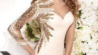 Beyaz ve Krem Abiye Elbise Modelleri
