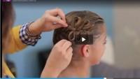 Çapraz Saç Örgü ve Kurdele Şekli Nasıl Verilir
